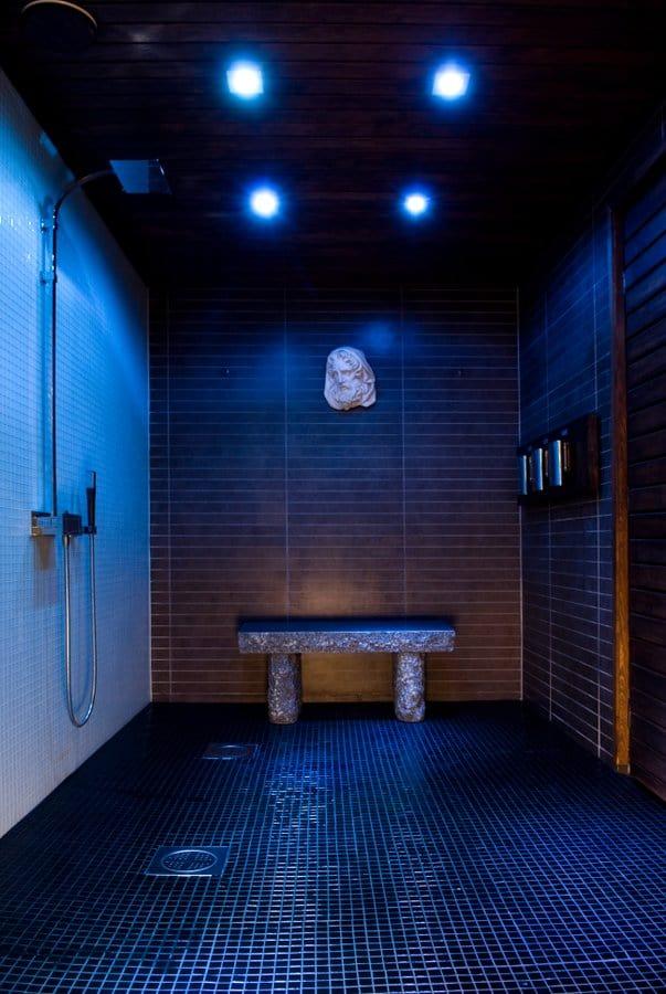 red S sauna