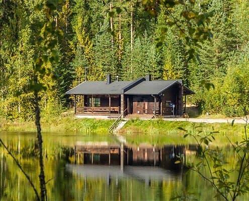 Vuorilammen sauna