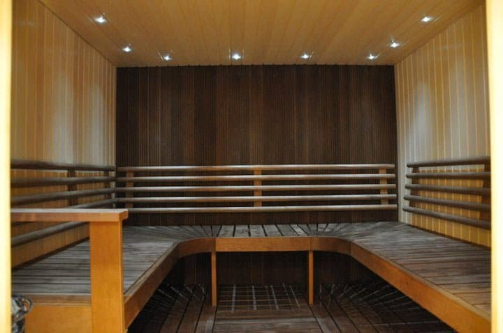 Galaxie Center Turku saunatila