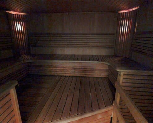 Glo Hotel sauna