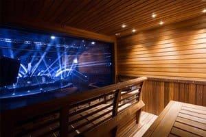 Metro-areena sauna
