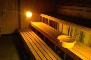 Nuuksionmajan sauna