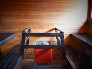 Rock Above Studio | Sauna