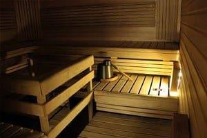 Talin keilahallin sauna